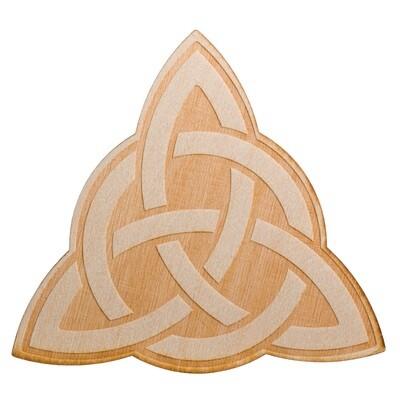 Triquetra Wooden Plaque