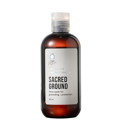 SACRED GROUND: Spruce and Arborvitae Floor Cleaner for Grounding + Protection