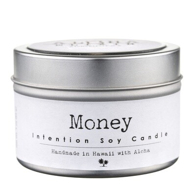 Money Intention Soy Candle