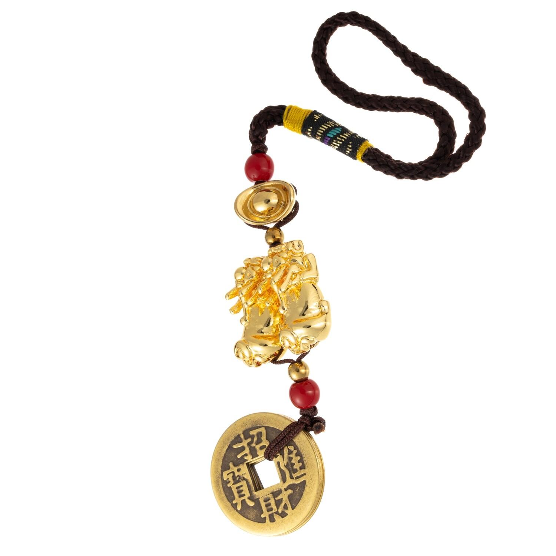 Golden Pi Chu w/coin or Bi Xie