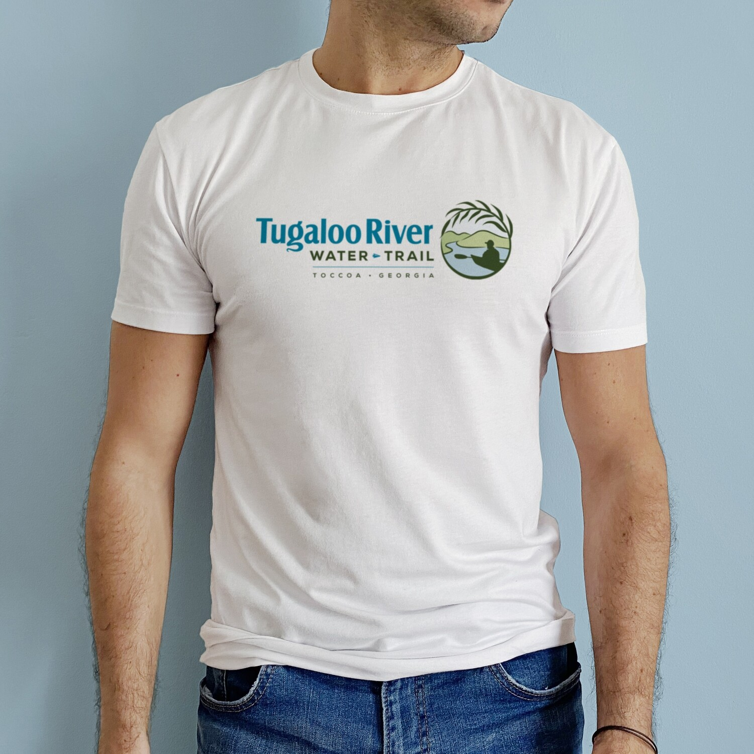 Tugaloo River Water Trail Shirt -- NEW FABRIC
