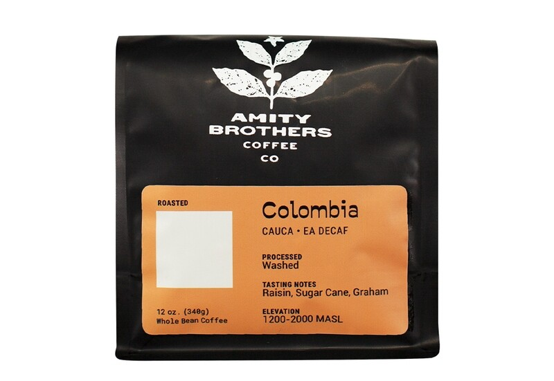 Colombia, Cauca - EA Decaf