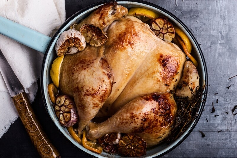 Certified Organic Turkey - Whole with Giblets
