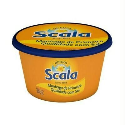 Manteiga com Sal Scala Pote 200g