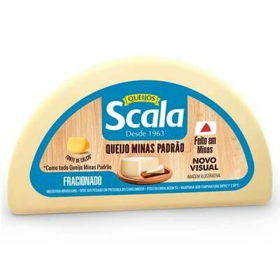 Queijo Minas Padrão Scala peso médio 550 gr.