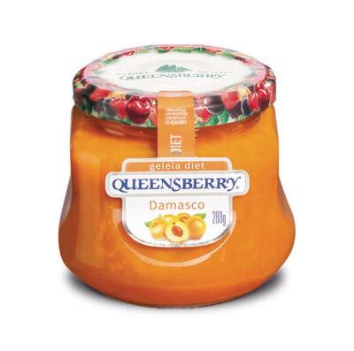 Geleia Diet Queensberry Damasco 280g