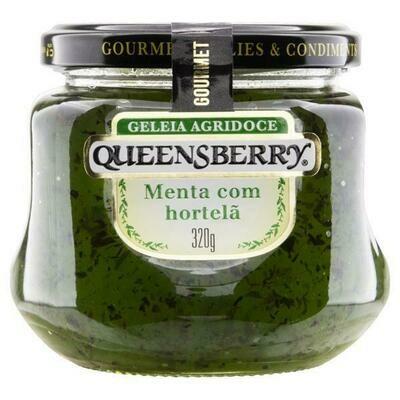 Geleia agridoce Queensberry Menta com Hortelã 320g