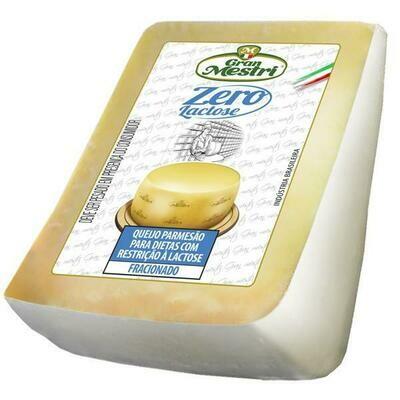 Queijo Parmesão Zero lactose Gran Mestri peso médio 150g