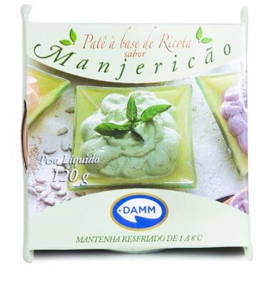 Creme de ricota com Manjericão Damm 120g