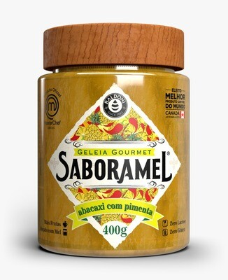 Geleia de Abacaxi com Pimenta Saboramel Masterchef Brasil 400g