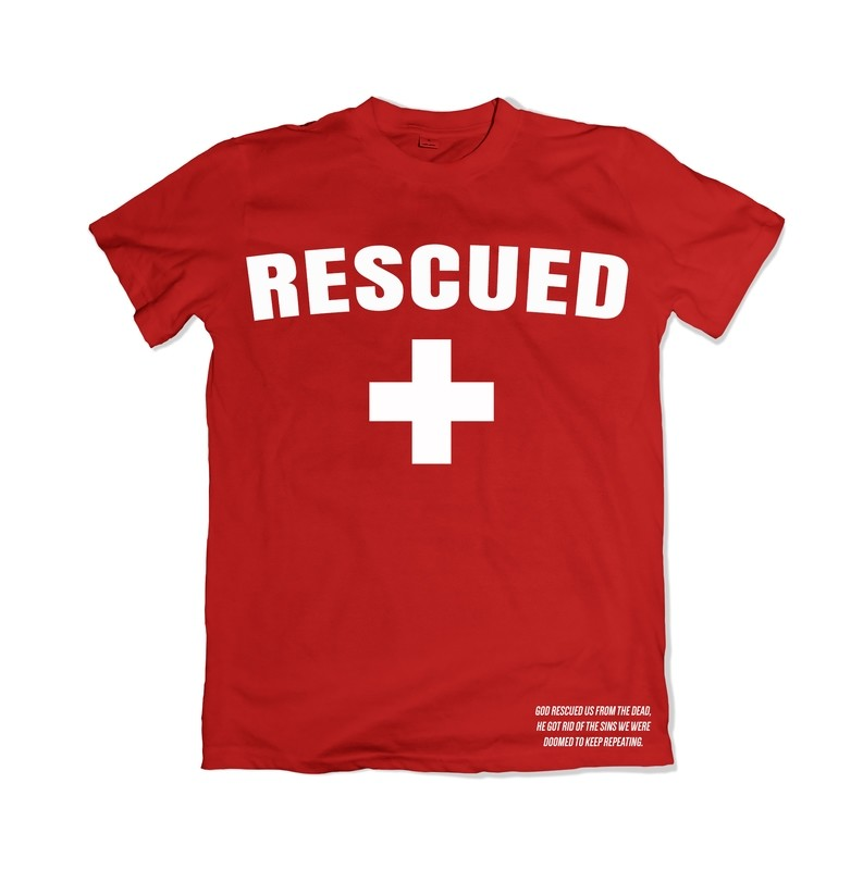 Rescued Tee (Red)