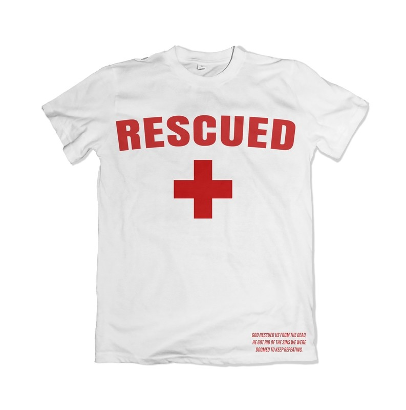 Rescued Tee (White)