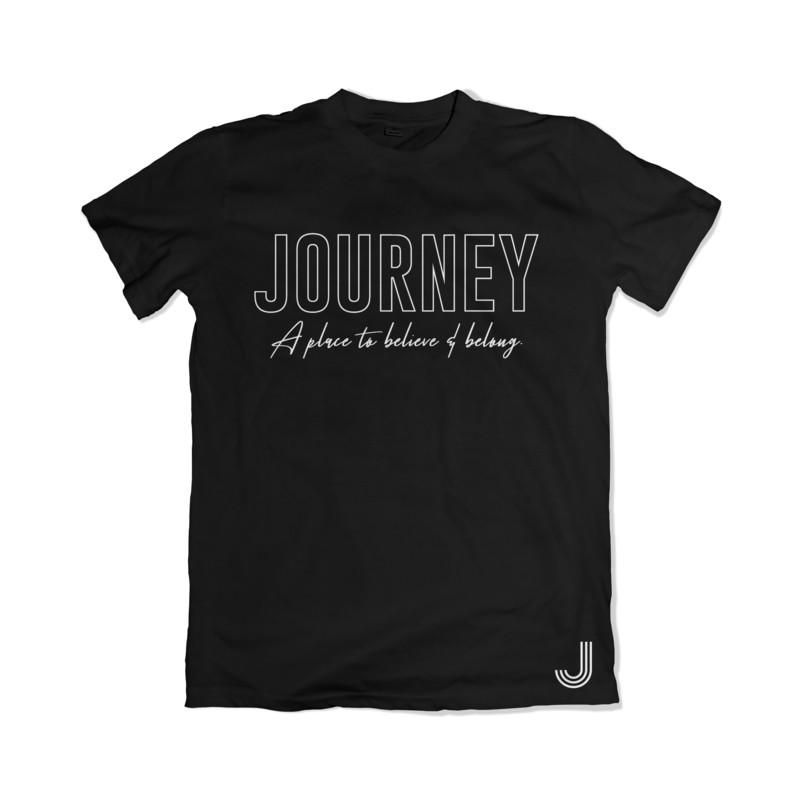 Journey Tee - Believe & Belong (Black)