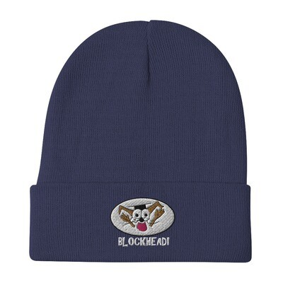 BLOCKHEAD Embroidered Beanie