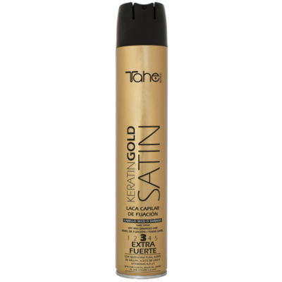 STRONG HOLD SPRAY SATIN KERATIN GOLD