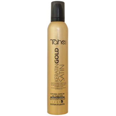 FIXING MOUSSE SATIN KERATIN GOLD