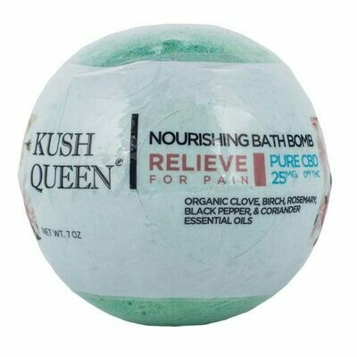Kush Queen Bath Bomb - Relieve