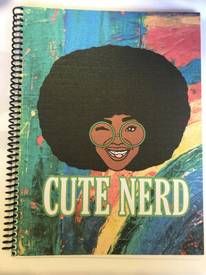 Cute Nerd Notebook