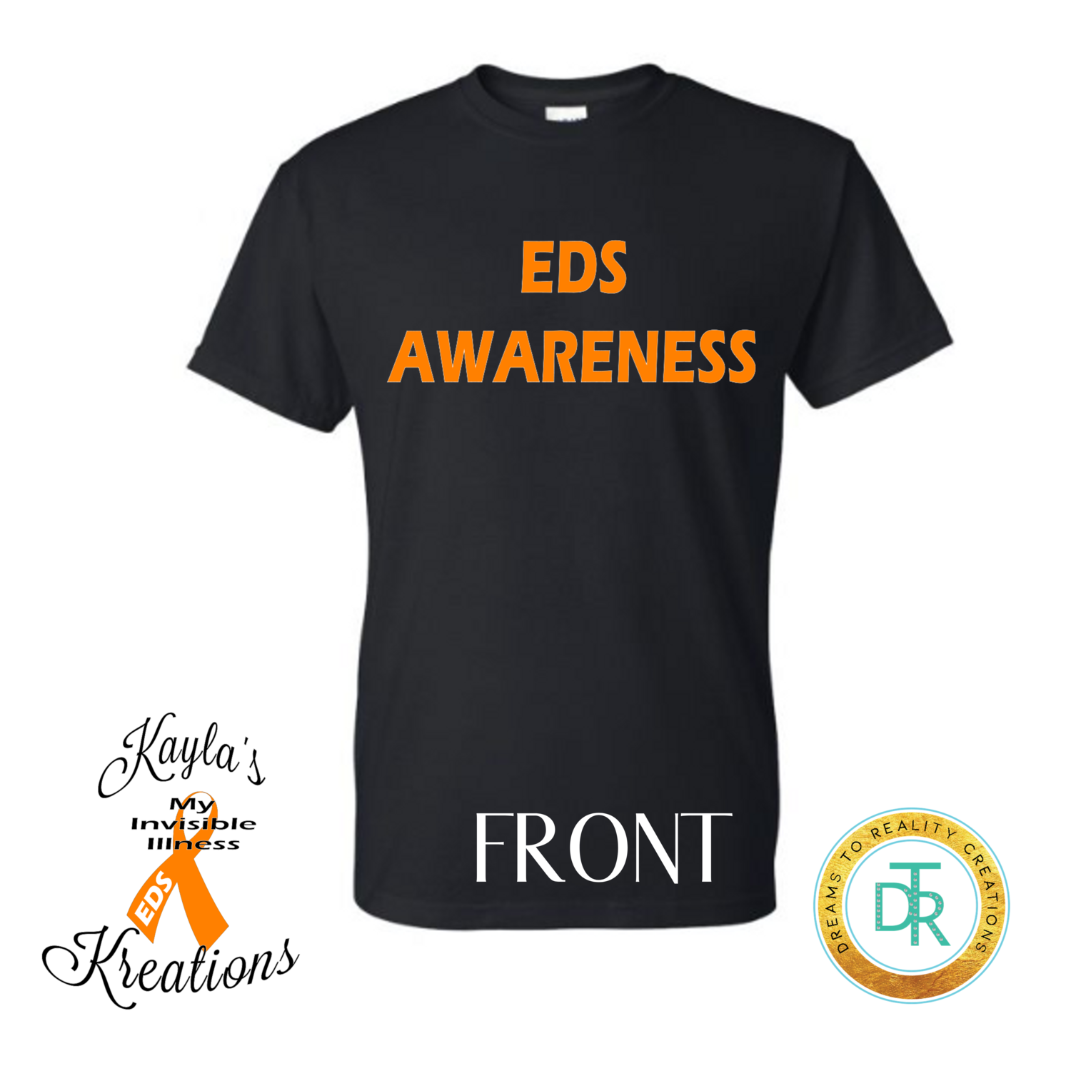 EDS Awareness Shirt by Kayla's Kreations