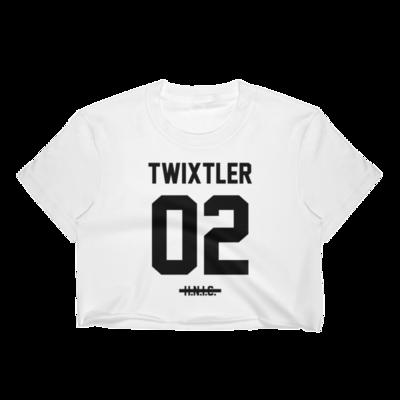 TWIXTLER Black Crop Top