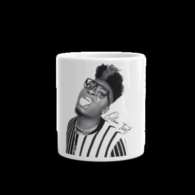 Oliver Twixt Black And White Mug