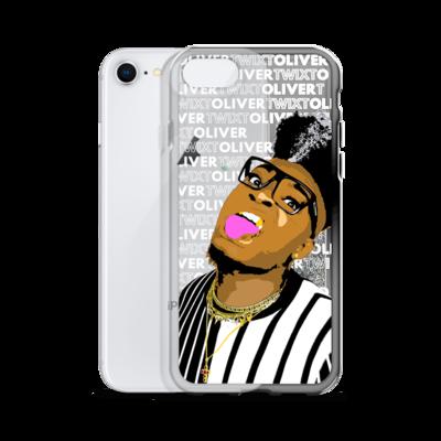 Oliver Twixt Cartoon Liquid Glitter Phone Case