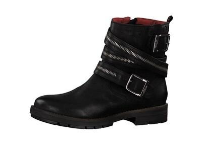 S.Oliver zwarte biker boots