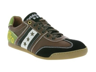 Pantofola d'Oro  leer en suède sneakers