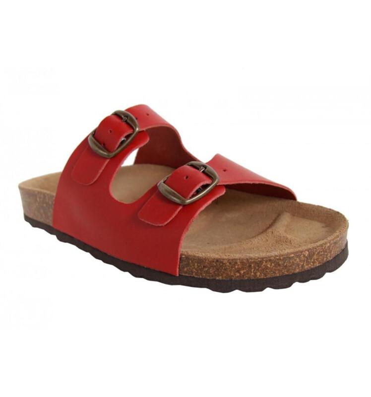 Leer Garatti slippers