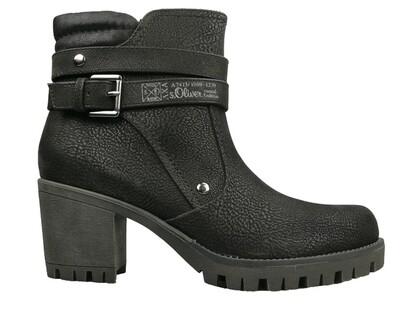 s.Oliver dames biker boots