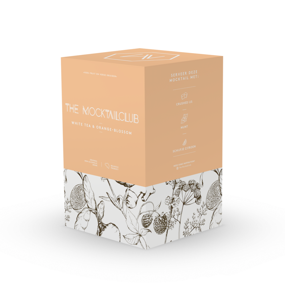 Box Green tea & Orange blossom