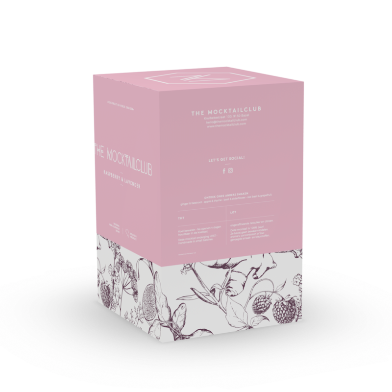 Box Raspberry & Lavender