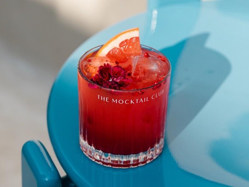 The Mocktail Club glas