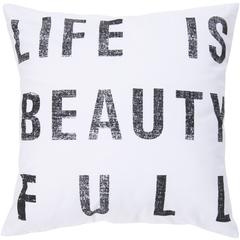 Beauty Full Throw Pillow