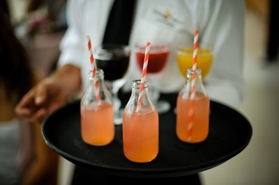 Pink Lemonade com Frutas Naturais