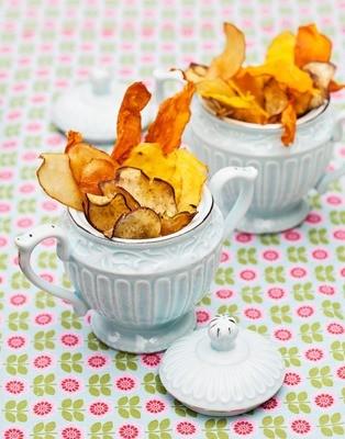 Chips de Leguminhos e Raízes