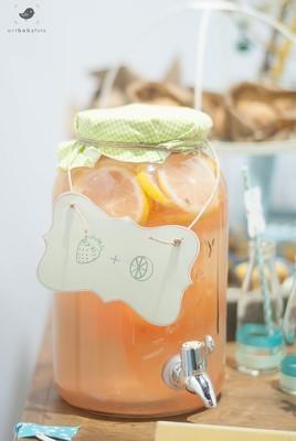 Suco de Morango com Limão Sicilano