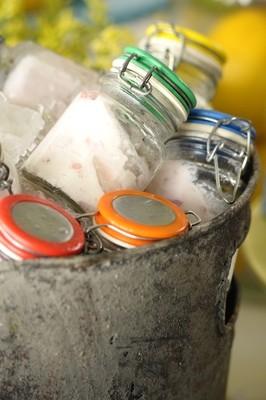 Sorvete Artesanal de Iogurte com Frutas Vermelhas, sem açúcar