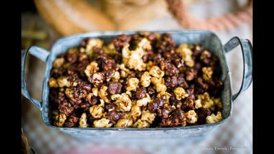 Pipocas Caramelizadas com Nuts