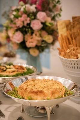 Torta Folhada com Brandade de Bacalhau