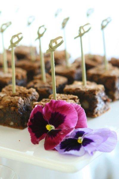 Cubinhos de Brownie com Castanha do Pará
