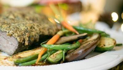 Mini Legumes Grelhados ao Azeite de Ervas e Alho