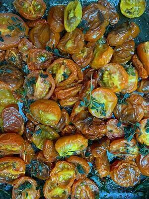 Tomatinho Confit em Azeite de Tomilho