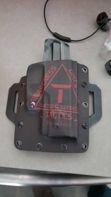 Tactical Defense Custom Holster with Logo (OWB)