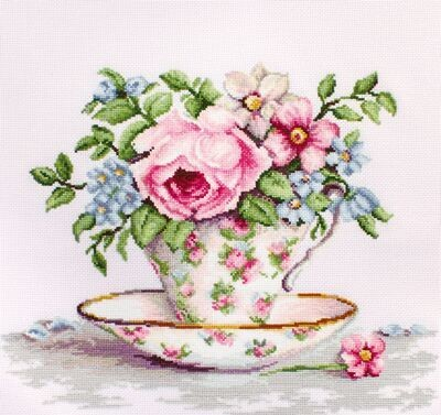 Luca-S Blooms in a Teacup