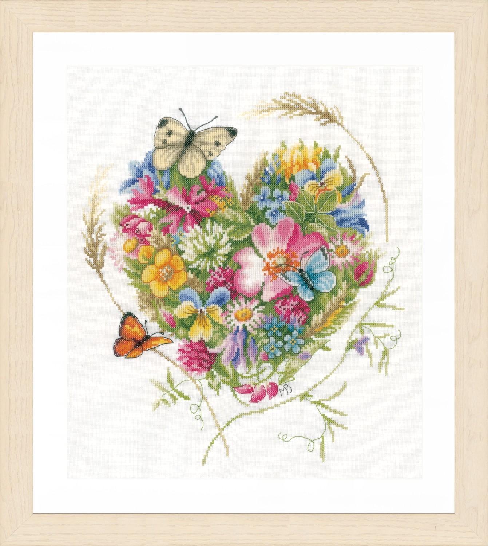 Lanarte A Heart of Flowers by Marjolein Bastin