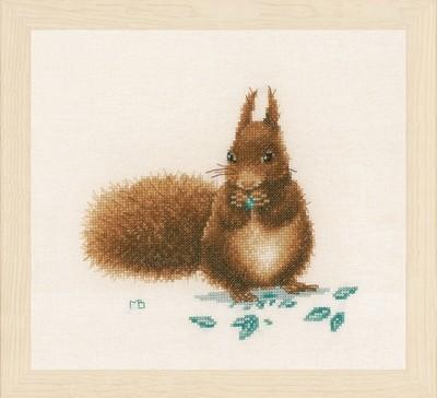 Lanarte Squirrel by Marjolein Bastin