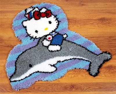Vervaco Hello Kitty op Dolfijn