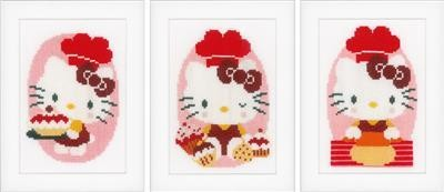 Vervaco Hello Kitty in de Bakkerij