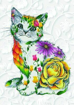 Diamand Dotz Flower Puss